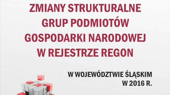 Structural Changes of Groups of Entities of the National Economy Recorded in the Regon Register in the Slaskie Voivodship in 2016