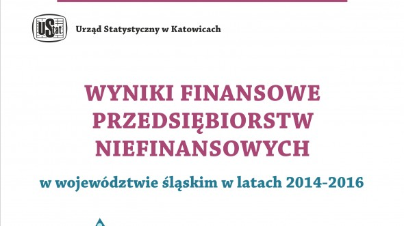 Financial Results of Non-financial Entities in the Slaskie Voivodship in years 2014-2016